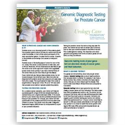 Genomic Diagnostic Testing for Prostate Cancer