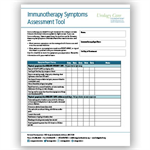 Immunotherapy Symptom Assessment Tools