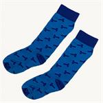 Blue Phallus (Penis) Socks
