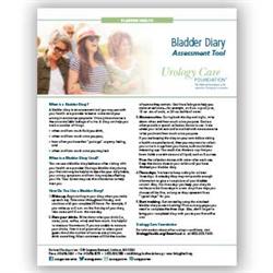 Bladder Diary Assessment Tool