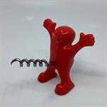 Bottle Corkscrew Opener – Red