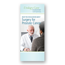 Surgery for Prostate Cancer
