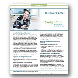 Testicular Cancer Fact Sheet
