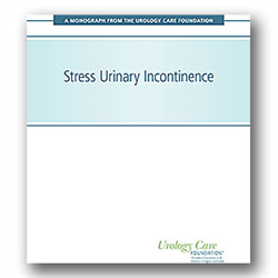 Stress Urinary Incontinence Monograph