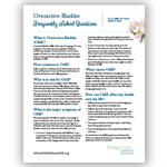Frequently Asked Questions About Overactive Bladder
