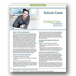 Testicular Cancer Fact Sheet